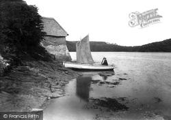Tegothnan Boat House 1912, St Michael Penkivel