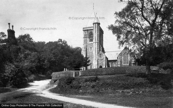 Photo of St Michael Penkivel, The Church 1890