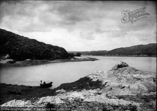 Photo of St Michael Penkivel, View Near Tregothnan 1890