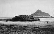 St Michael's Mount, c1871
