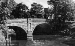 The Church And Bridge c.1960, St Michael's On Wyre