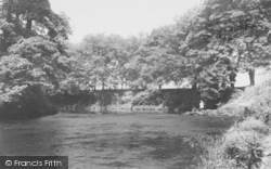 The River Wyre c.1960, St Michael's On Wyre
