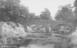 The Wyre Bridge c.1960, St Michael's On Wyre