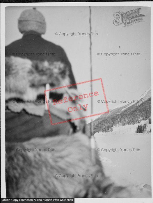 Photo of St Moritz, Between Samadan And Zuoz c.1937