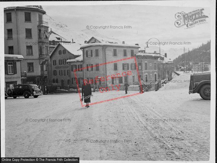 Photo of St Moritz, c.1937