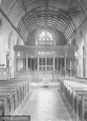 Church, Rood Screen 1900, St Neot