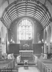 The Church, Chancel 1893, St Neot