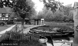 St Neots, Brearley's Landing Stage c.1955