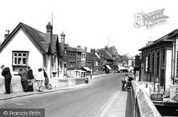 St Neots, Bridge And High Street c.1954