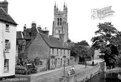 St Neots, Brook Street c.1955