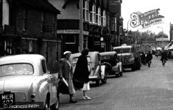 St Neots, Crossing High Street c.1955