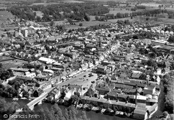 St Neots, From The Air c.1955