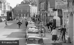 Getting In The Car, High Street c.1960, St Neots