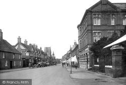 St Neots, High Street 1925