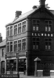 St Neots, High Street, Ellwood Shop 1897
