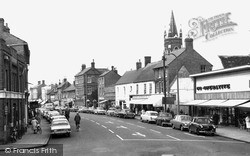 St Neots, High Street From The Cross c.1965