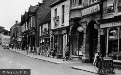 St Neots, High Street, Shops c.1955