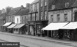 Market Place Shops 1925, St Neots