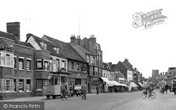 St Neots, Market Square And High Street c.1955