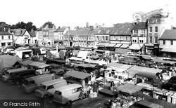 St Neots, Market Square c.1965