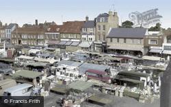 Market Square c.1965, St Neots