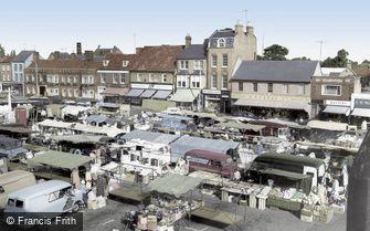 St Neots, Market Square c1965