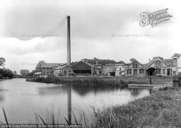 St Neots,Paper Mills 1925,Cambridgeshire