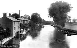 St Neots, River Ouse From Bridge 1925