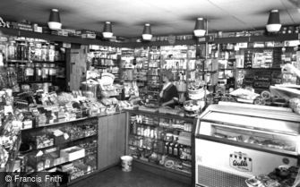 St Neots, Roper's Shop, Cambridge Street c1965