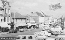 St Neots, Shops Beside Market Square c.1965