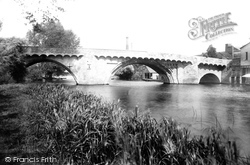 St Neots, The Bridge 1897