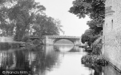St Neots, The Bridge 1925