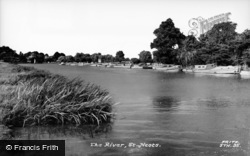 St Neots, The River c.1960