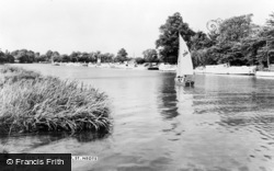 St Neots, The River c.1965