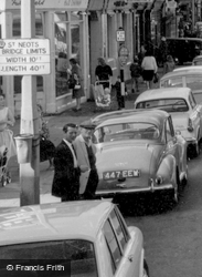 Waiting To Cross High Street c.1960, St Neots