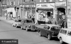 Walking Down High Street c.1960, St Neots