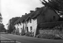Thatch Cottages 1953, St Nicholas