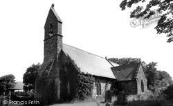 The Church c.1955, St Nicholas