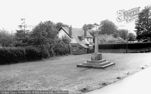 Photo of St Nicholas, The Green And Memorial c.1965