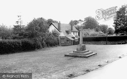The Green And Memorial c.1965, St Nicholas