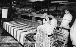 Weaving, Tregwynt Woollen Mill c.1960, St Nicholas