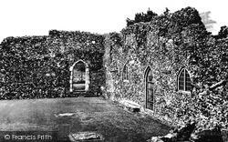 Priory Ruins c.1955, St Olaves