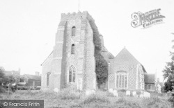 St Osyth, Church c.1890