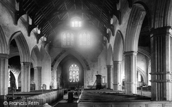 St Osyth, Church Interior 1891