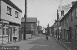 Clacton Road c.1955, St Osyth