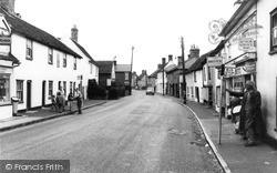 Clacton Road c.1960, St Osyth