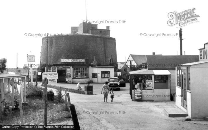 Photo of St Osyth, Martello Tower, Point Clear Bay c1955, ref. S38050