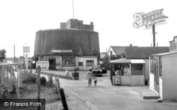 St Osyth, Martello Tower, Point Clear Bay c.1955