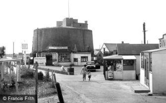 St Osyth, Martello Tower, Point Clear Bay c1955