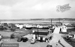 St Osyth, Point Clear Bay From The Martello Tower c.1960